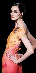 Model / catwalk / fashion / Erin O'Connor