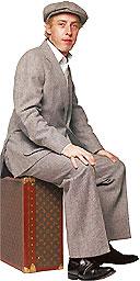 James Brown, hairdresser