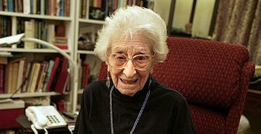 Rose Hacker, a journalist at the age of 100