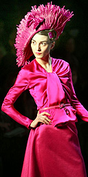 The Christian Dior fall-winter 2007/2008 collection in Paris