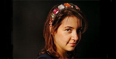 Hadley Freeman/ hairband