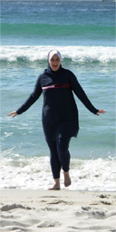 Manal Omar/ Islamic swimsuit