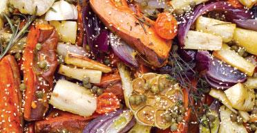 Yotam Ottolenghi's roast parsnips