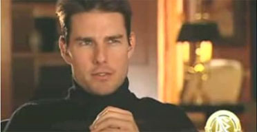 Tom Cruise in a polo neck