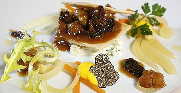 Michelin-starred food at the Yorke Arms in Ramsgill