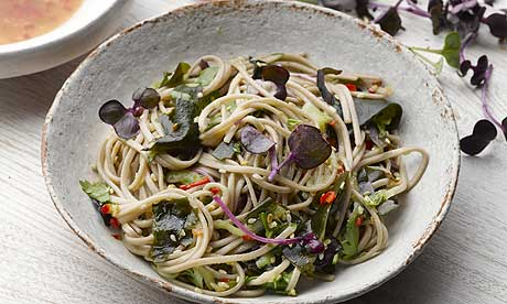 The new vegetarian: Yotam Ottolenghi prepares soba noodles with wakame ...