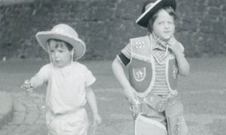 Daniel and Harriet Wistrich as children in 1960s London