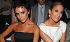 Victoria Beckham and Jennifer Lopez at New York fashion week