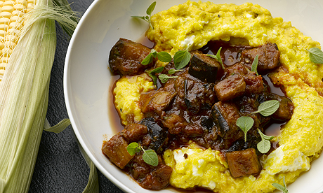 ... Ottolenghi prepares sweetcorn polenta | Life and style | The Guardian