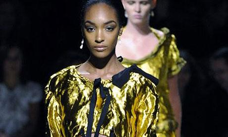 The Prada show at Milan fashion week