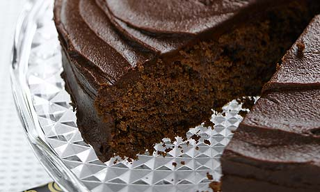 Recipes: Chocolate cakes by top chefs  Life and style  The Guardian