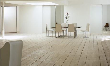 Minimalist room. Photograph: Simon Upton/The Interior Archive