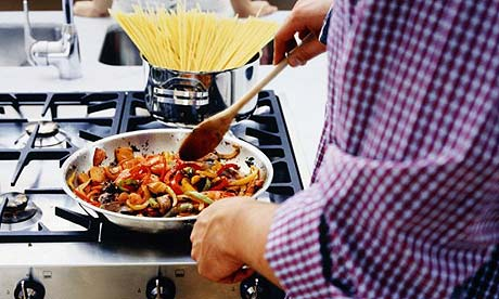 Nibbles men make dinner day life and style the guardian Something different to make for dinner