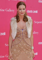 Trinny woodall wearing a gilet