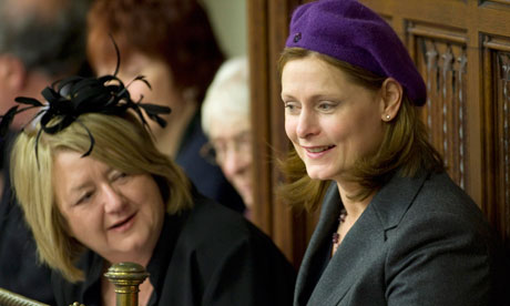 Sarah Brown in a purple beret