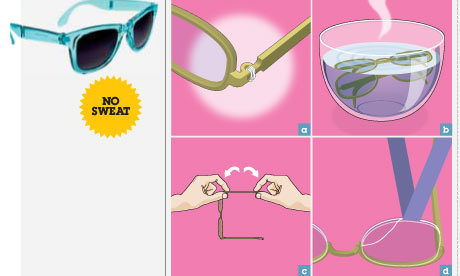 How to fix your glasses Life and style The Guardian