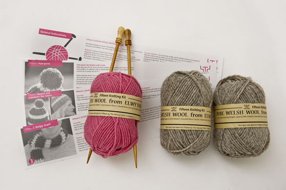 Knitting Pattern Wool Kits : Jamie Olivers knitting kit and other great wool packs Life and style ...