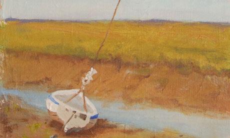 Boat at half way house by Kieron Williamson