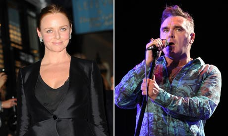 Stella McCartney and Morrissey team up to produce a line of vegan footwear