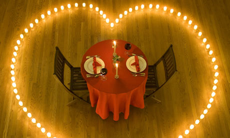 The great dinner date quest the results life and style - Table setting for dinner date ...
