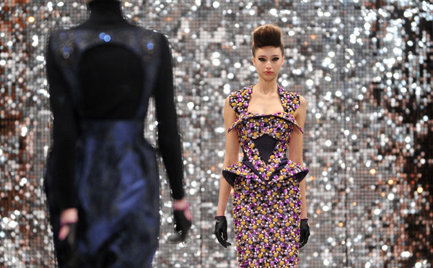 Razzle and dazzle at London fashion week finale | Life and style | guardian.co.uk