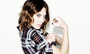 Alexa Chung for the Fashion Handbook