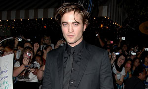 Robert Pattinson at the Twilight premiere
