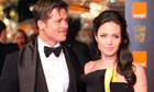 Brad Pitt and Angelina Jolie at the BAFTAs 2009