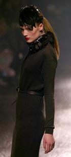 A model wears Lanvin