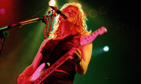 Courtney Love, lead singer of Hole