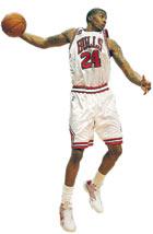 Tyrus Thomas of the Chicago Bulls