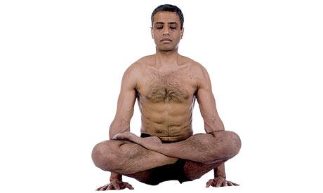 It's the classic ashtanga yoga