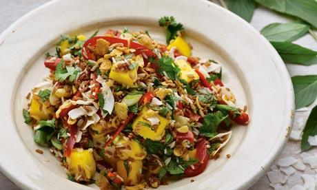 Basmati Rice And Summer Vegetable Salad Recipe — Dishmaps