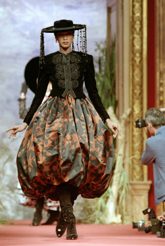 Christian Lacroix A Career In Pictures Fashion The