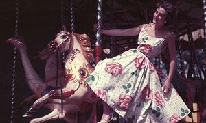 Summer dress carousel