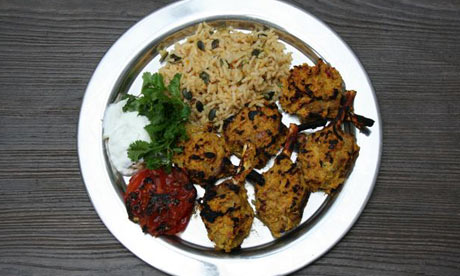 Allegra McEvedy's G2 weekly recipe: Tandoor-ish lamb chops with three ...