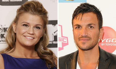 Kerry Katona and Peter Andre