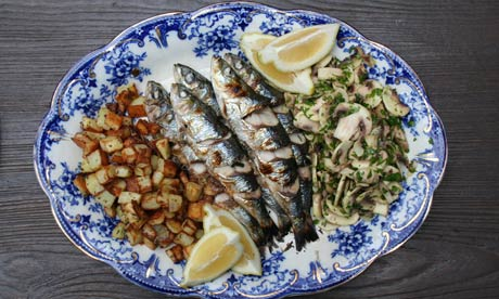 The G2 weekly recipe: Grilled sardines with gremolata mushrooms | Life ...