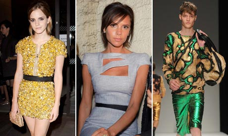 Emma Watson at Burberry, Victoria Beckham at Fashion East and James Long
