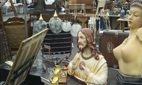 Copper statue of Jesus