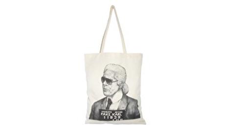 Karl Lagerfeld shopper