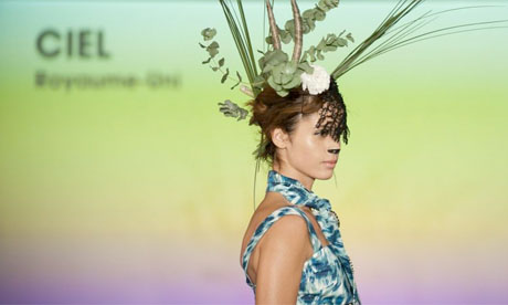 A design from Ciel at the Ethical Fashion Show in Paris