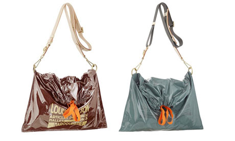 louis vuitton trash bag aka the 39 raindrop besace 39 photograph publi