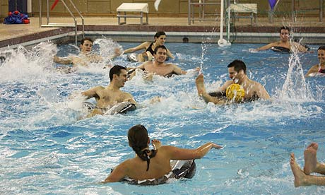 how to play water polo wikihow
