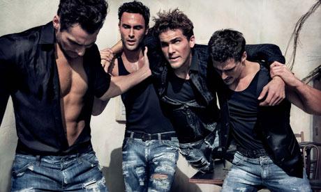 Dolce and Gabbana Male Model David