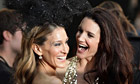 Sarah Jessica Parker and Kristin Davis at the UK premiere of Sex and the City 2
