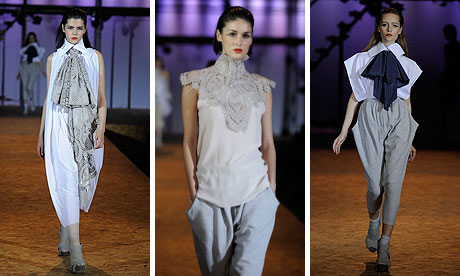 Rebecca Thomson's designs at Graduate fashion week