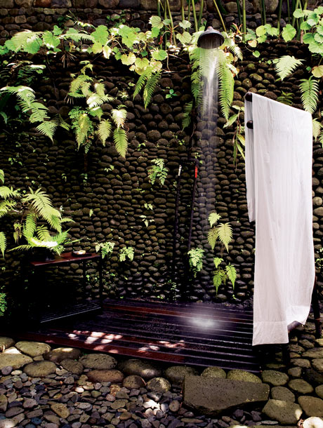 As Our Bathroom Is Going To Be A Bit Small We Thought About An Outdoor Shower In The Garden R Wants To Try Building Something With Mud Bricks But Maybe