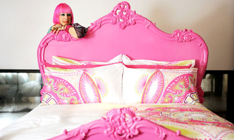Zandra rhodes 39 s other passion interior design life and style the guardian - British interior design style pragmatism comes first ...