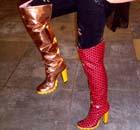 Lulu Kennedy's boots